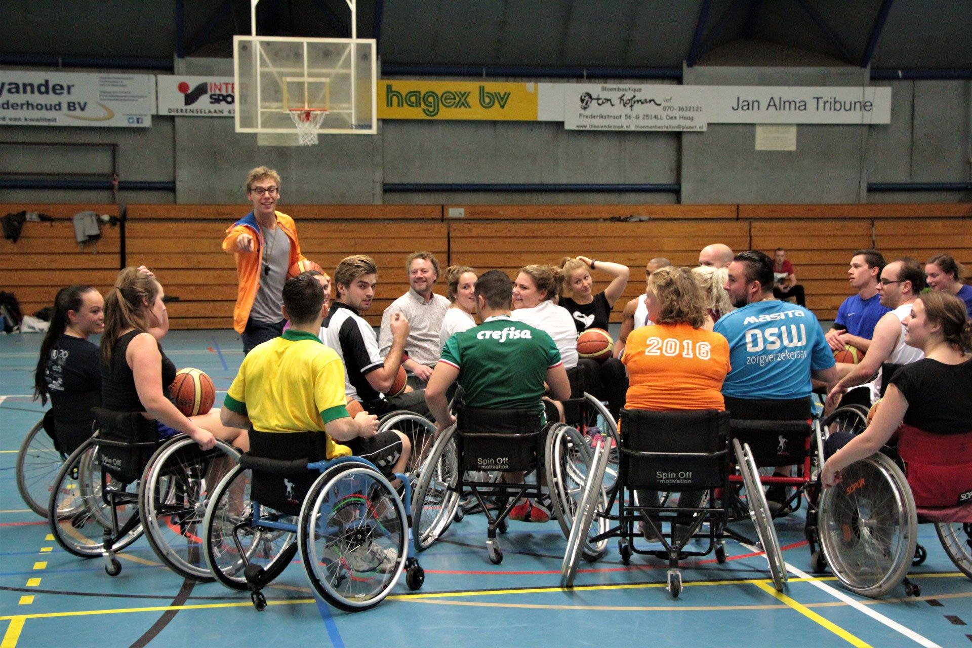 Rolstoelbasketbal als rolstoelsport
