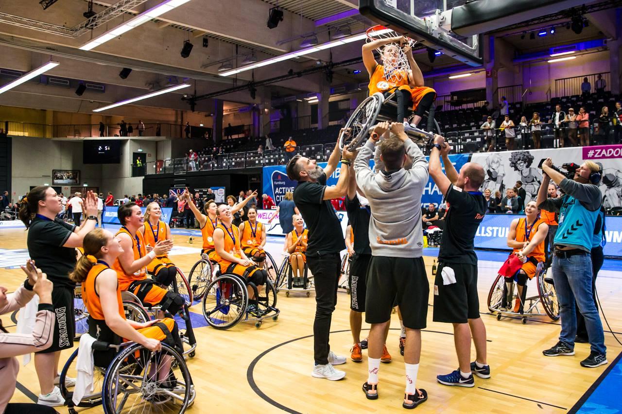gtm-wereldkampioen-rolstoelbasketbal-jitske-visser door Ilse Schaffers