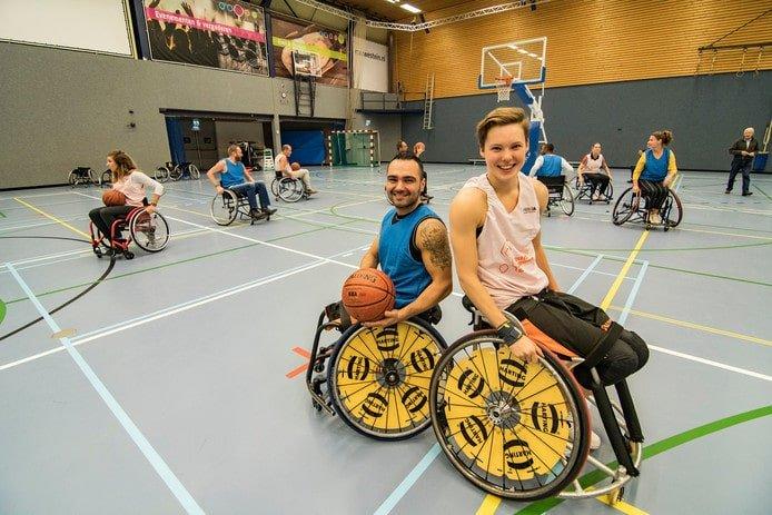 Instuif rolstoelbasketbal