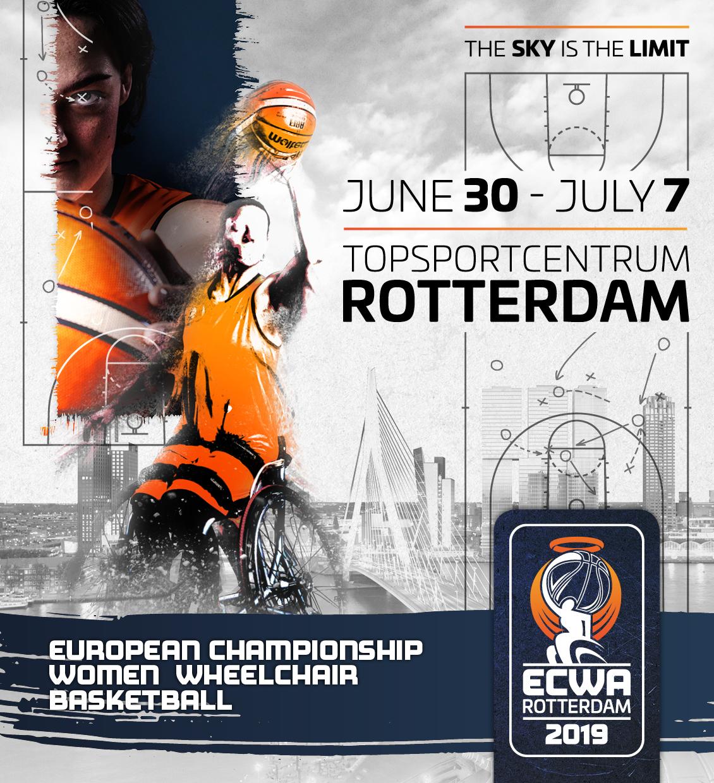Kaartverkoop voor EK rolstoelbasketbal vrouwen van start