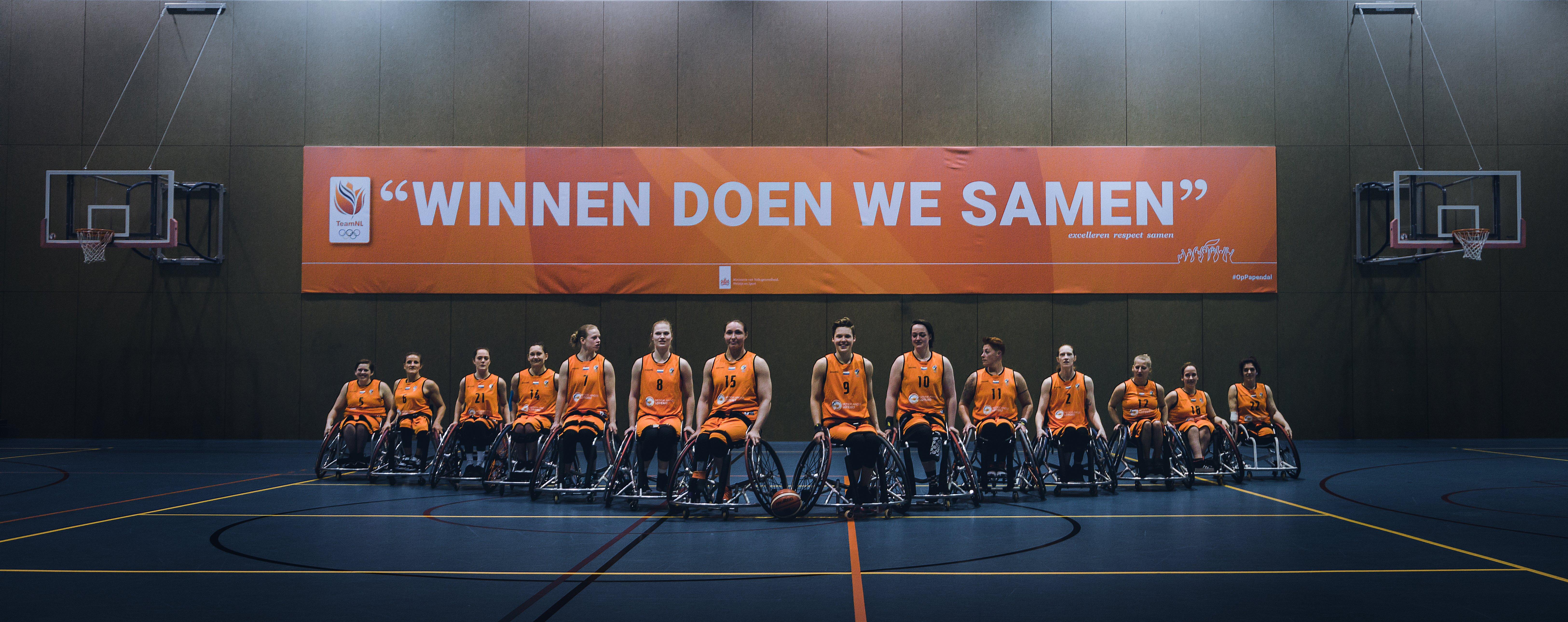 Rolstoelbasketbal, de eerste paralympische teamsport waarvan de finale live wordt uitgezonden op televisie