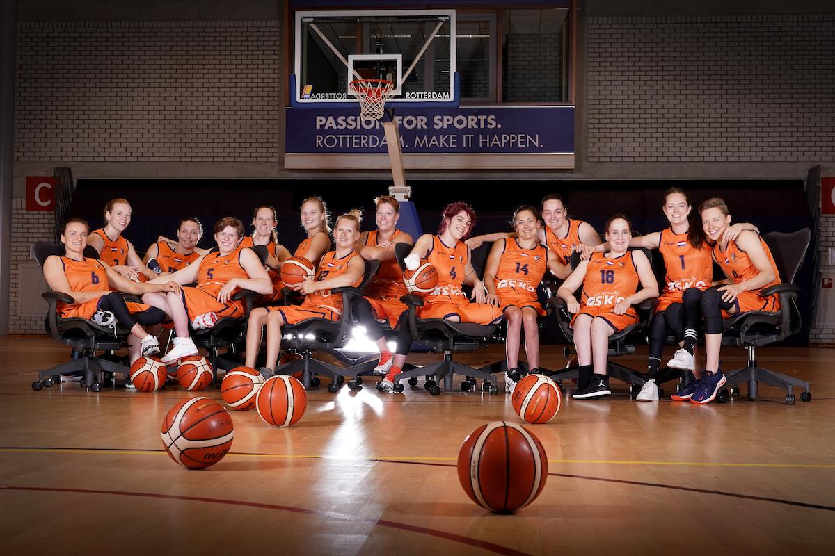 Orange Lions dames lancering Sitness