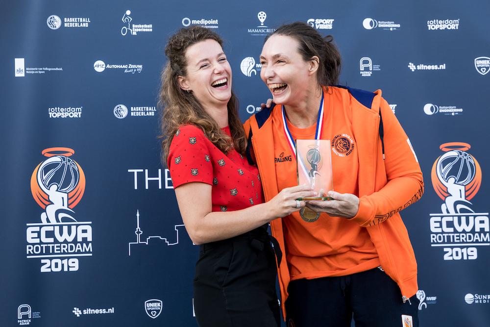 Roos Hudepohl en Mariska Beijer