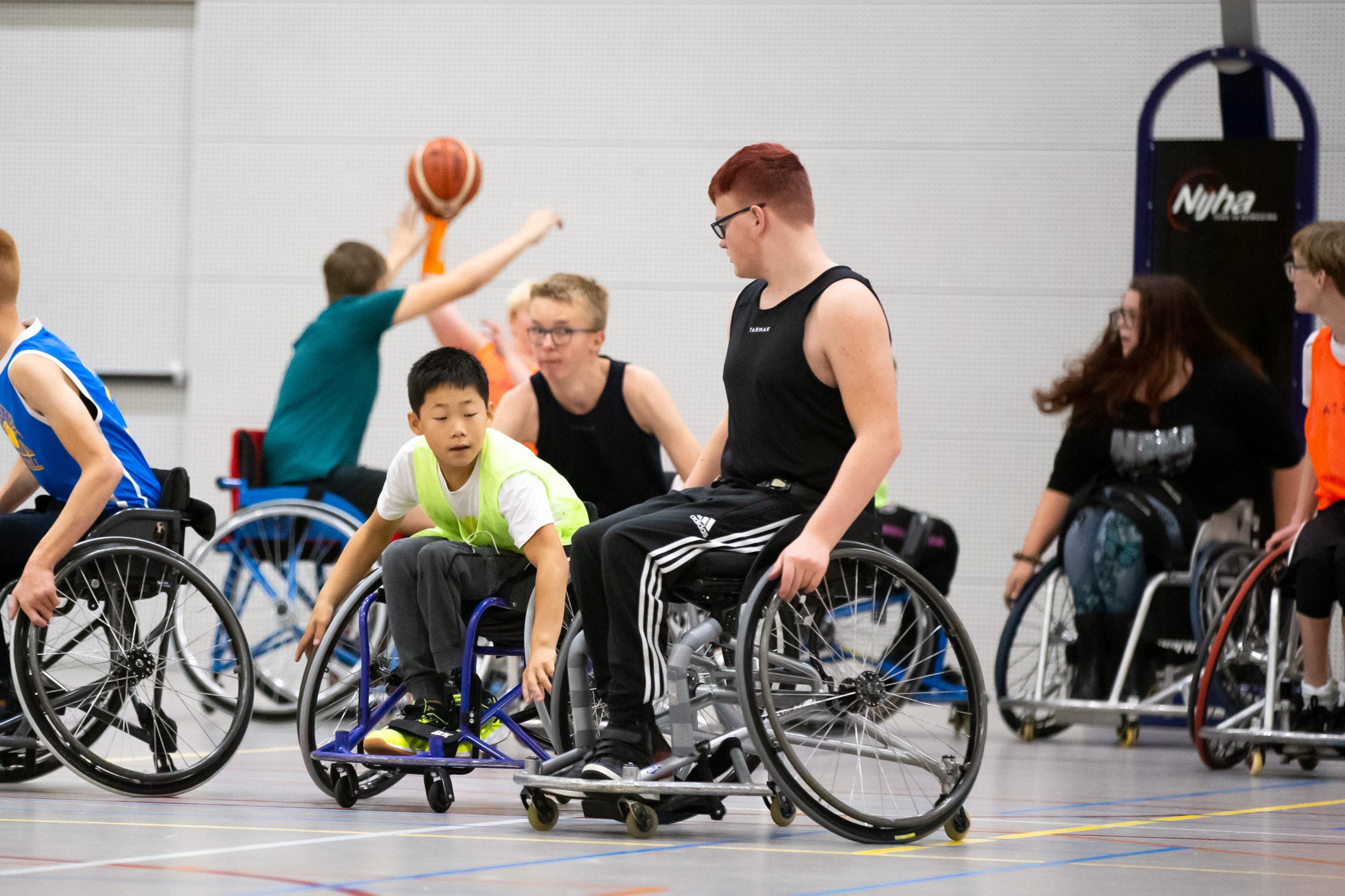 NBB en BEN slaan handen ineen voor jeugdrolstoelbasketbal